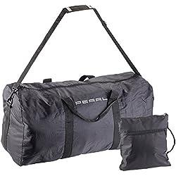 PEARL Faltbare Reisetasche: Leichte Falt-Reisetasche aus reißfestem Polyester, 58 Liter, Tragegurt (Faltbare Tasche)