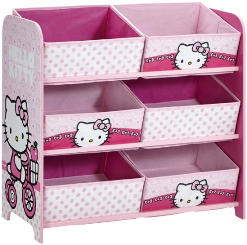 worlds-apart-hello-kitty-6-bin-storage-unit