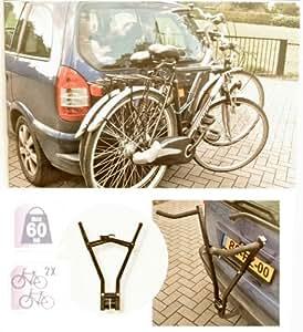 universal fahrradtr ger anh ngerkupplung f r 2 fahrr der. Black Bedroom Furniture Sets. Home Design Ideas