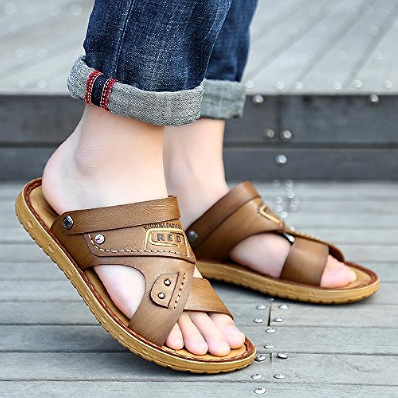 @Sandals Zapatos De Verano En La Playa, Hombres Sandalias, Nuevo Fondo Blando Casual Sandalias, Zapatillas Antideslizante
