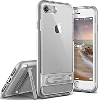 Cover iPhone 7 , VRS Design [Crystal Bumper][Argento Satinato] -