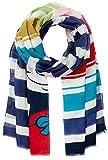 CODELLO Damen Schal 81034704, Blau (Navy Blue 02), One Size