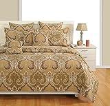 SWAYAM Biege Colour Bed in a Bag Set of ...