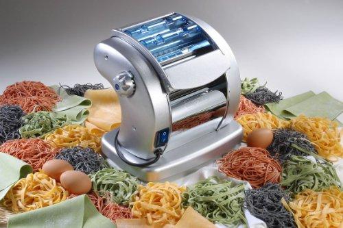 51giPVV16LL - Imperia 700 GSD Electrical Pasta Machine Pastapresto, Stainless Steel, 85 W, Multi Colour