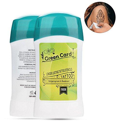 Tattoo Transfer Cream, 51g Professional Tattoo Transfer Soap Tattoo Stencil Primer Supplies Body Paint Tattoo Accessories