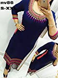 Selfie Style- Trendy Fancy Georgette Emb...