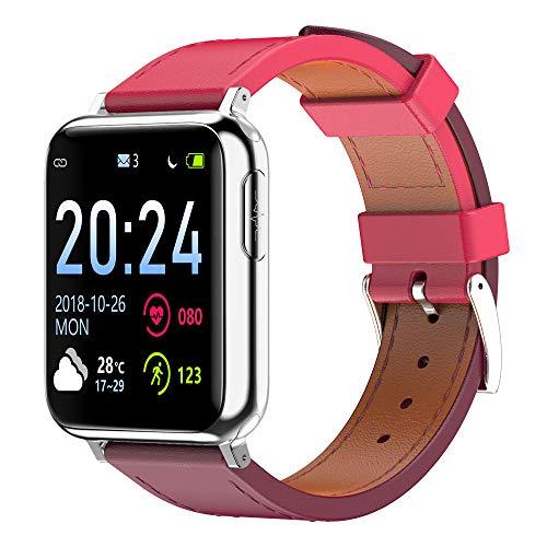 iCerber Smartwatch Wasserdicht Smart Watch Uhr mit Pulsmesser Fitness Tracker Sport Uhr Fitness Uhr mit Schrittzähler,Schlaf-Monitor,SMS Benachrichtigung Push kompatibel für Android und iOS