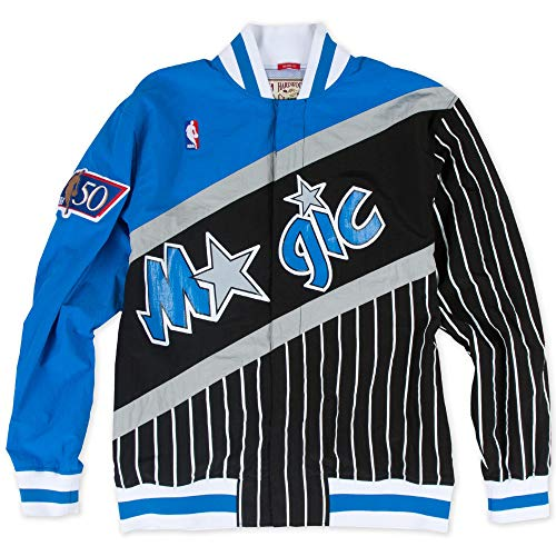 Mitchell & Ness Orlando Magic NBA Authentic Warm Up Jacket Jacke Anorak Windbreaker Warm Up Windbreaker Jacken