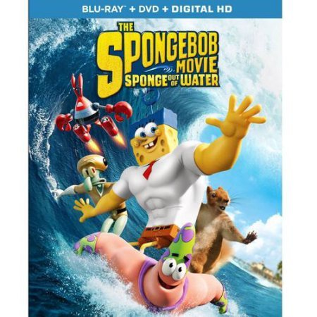 The SpongeBob Movie: Sponge Out Of Water (Blu-ray + DVD + Digital HD + Limited Edition Drawstring Bag) (Widescreen)