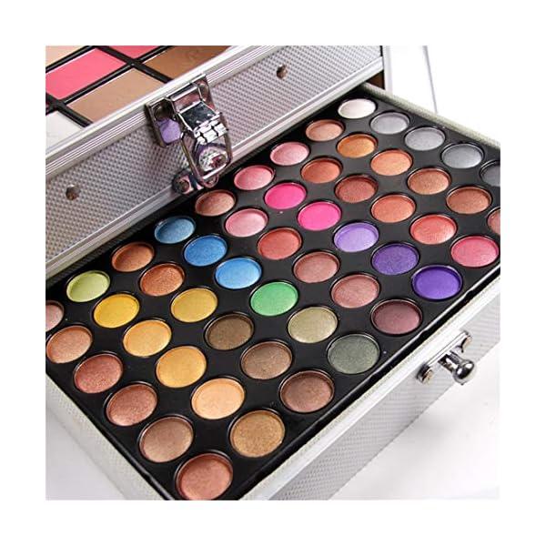 JasCherry Paleta de Sombras de Ojos 132 Colores de Maquillaje Set Kit de alta Calidad Cosmético – Incluye sombra de ojos…
