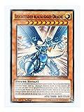 DPRP-DE026 Leuchtender blauäugiger Drache 1. Auflage im Set mit original Gwindi Kartenschutzhülle