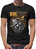 Volbeat - Heaven and Hell T-Shirt Herren S Schwarz