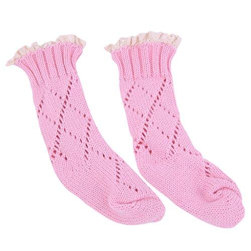 MagiDeal Jungen Mädchen Baumwolle Socken Baby Kostüm Fotoshooting - Rosa, (Herr März Kostüm)