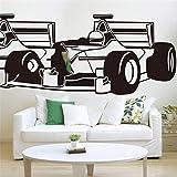 etiqueta de la pared decoración Cool Racing Car Boy Room Rc Coche deportivo Habitación para niños