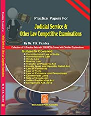Practice Papers for Judicial Service & Other Law Competitions : Dr. P.K. Pandey