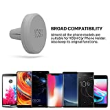 YOSH Magnetic Phone Holder for Car Air Vent Phone Mount in Car Cradle Mount Stand for Universal Cellphones for iPhone X SE Blackview A7 A10 Honor 9 Nokia 7 LG Wileyfox DOOGEE Pixel