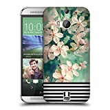 Head Case Designs Blumig Streifen Trend Mix Snap-on Schutzhülle Back Case für HTC One M8 / M8 Dual Sim / M8s