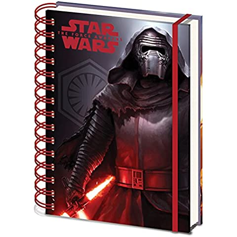 Star Wars Episode Vii Notebook A5 Dark Pyramid International