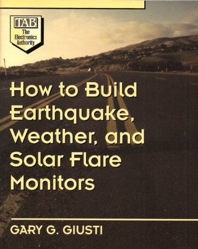 How to Build Earthquake, Weather, and Solar Flare Monitors (Solar-flare-design)