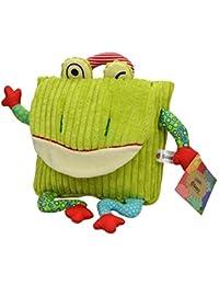 Preisvergleich für Luxma Kinderrucksack Frosch Rucksack Kinder Kind Tasche Kindergarten Cord Kuscheltier