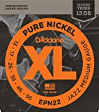D'Addario EPN22 Saitensatz Pure Nickel Jazz Medium 13-55