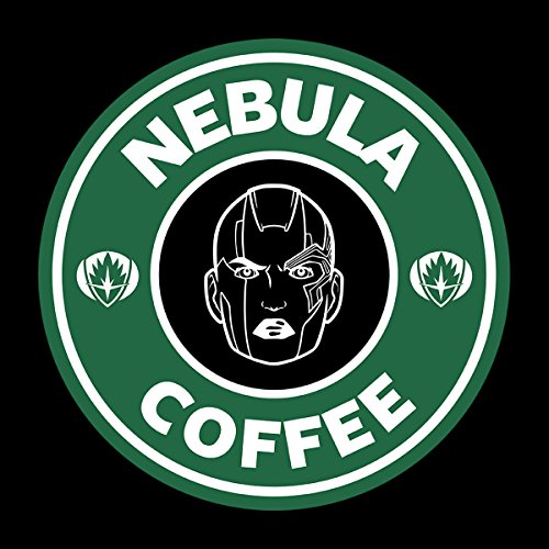Guardians Of The Galaxy Nebula Coffee Starbucks Men's Vest Black