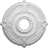 Ekena Millwork CM18AT 18-Zoll-OD x 4-Zoll-ID x 5/8-Zoll-Attika-Decken-Medaillon