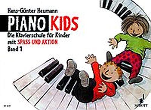 Piano Kids: Die Klavierschule für Kinder mit Spaß und Aktion. - Komplett-Angebot. Band 1 + Aktionsbuch 1. Klavier.