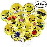 BESTOMZ Party Luftballons Gesichtsausdruck Balloons für Party Zur Dekoration, 45cm (24 Stück)