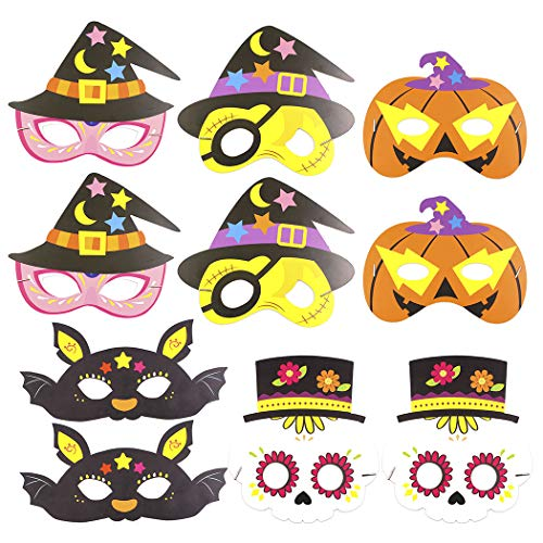 Cartoon Creative Paper Costume Mask Party Mask for Kids ()