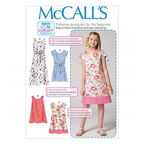 McCall Pattern Company McCalls MC 6696 B5 (8-10-12-14-16 ...
