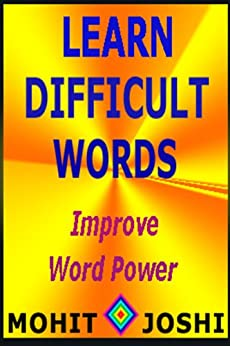 Learn Difficult Words (English Edition) di [Joshi, Mohit]