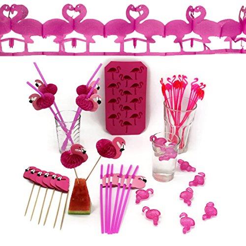 Bada Bing 40tlg. Flamingo Sommer Partyset