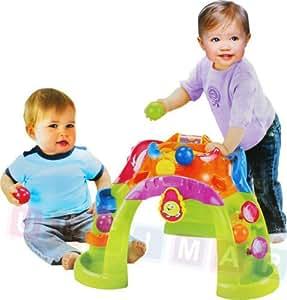 Volcan interactive avec boules, volcano balles, jouet de premier age, activite enfants, centre d'activites, machines pour le bebe, jouet d'apprentissage, jouet interactif