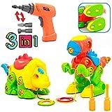 Dinosaurios Juguetes Dmontaesr Puzzle Construccion de Juguete con...