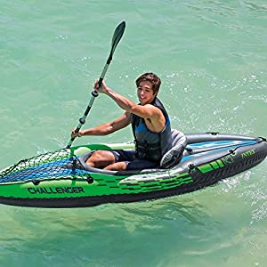 Intex Challenger K1 Kayak - One Person Kayak