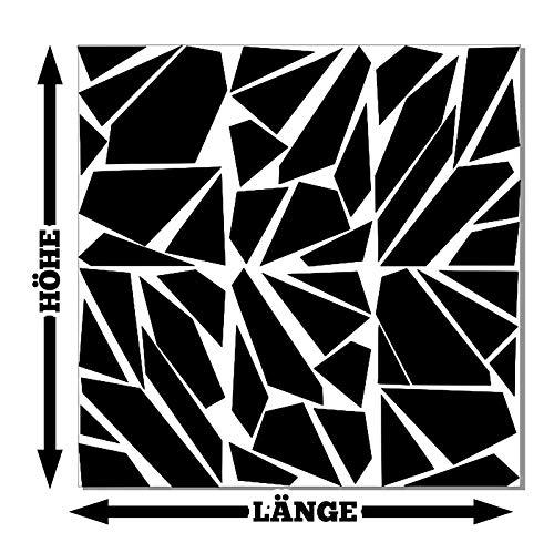 HR-WERBEDESIGN Camouflage Pixel Cyber XXL Set Auto Aufkleber Sticker Tuning Stylin Wandtattoo b