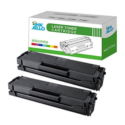 InkJello Compatibile Toner Cartuccia Sostituzione Per Samsung ML-2160 ML-2162 ML-2165 ML-2165W ML-2168 SCX-3400 SCX-3400F SCX-3405 SCX-3405F SCX-3405FW SCX-3405W SF-760P MLT-D101S (Nero 2-Pack)