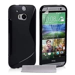 HTC Desire One S Magic Brand S-Line Black Soft Silicon Back Cover Case