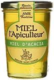 MIEL L'Apiculteur Miel d'Acacia - Pot Verre 500 g - Lot de 2