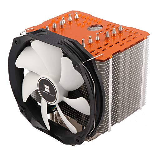 Produktbild Thermalright ARO-M14 Orange AMD Ryzen CPU-Kühler,  6 x 6mm Heatpipes,  TY 147A PWM Lüfter (300-1.300 U / min,  15-21 dBa,  28, 7-125 m³ / h),  Chill Factor Wärmeleitpaste voraufgetragen,  orange