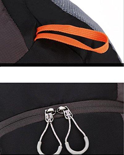 HCLHWYDHCLHWYD-Uomini e donne all'aperto uomini e le donne di alpinismo dello zaino della spalla sacchetto 40L ultra grande capacità borsa da viaggio borsa a tracolla a cavallo , orange blue