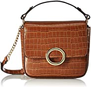 Accessorize London Olive Lock Cross Body Women's Sling Bag (