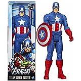 KITI KITS Heer Captian America Comic Super Hero Action Figure Toy -12 Inch (Blue)