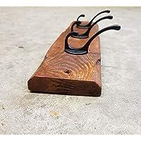 Handmade Vintage Style Coat Hook Reclaimed Pallet Wood Rustic Wooden Coat Rack