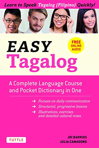 Easy Tagalog: Learn to Speak Tagalog Quickly (Downloadable CD-ROM) (Easy Language Series) (English Edition)