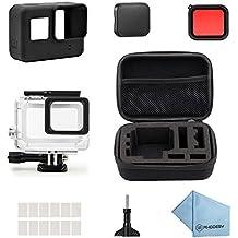 Rhodesy 18 en 1 GoPro Hero 5 Protective Estuche Impermeable Kit de Accesorios para GoPro Hero 5 Acción Cámara