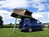 YM-C1011RTA 1.4M 3 Man Expedition Roof Tent with Annex For 4X4s, Vans & Motorhomes