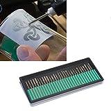 Generic Diamant-Frässtifte Set 30pce 2,35mm Schaft Glas Gravur passend für Dremel Bosch GMC 879< 1& 2095* 1>