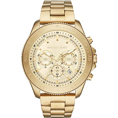 Michael Kors MK8663 Chronograph Gold Stainless Steel Men's Watch